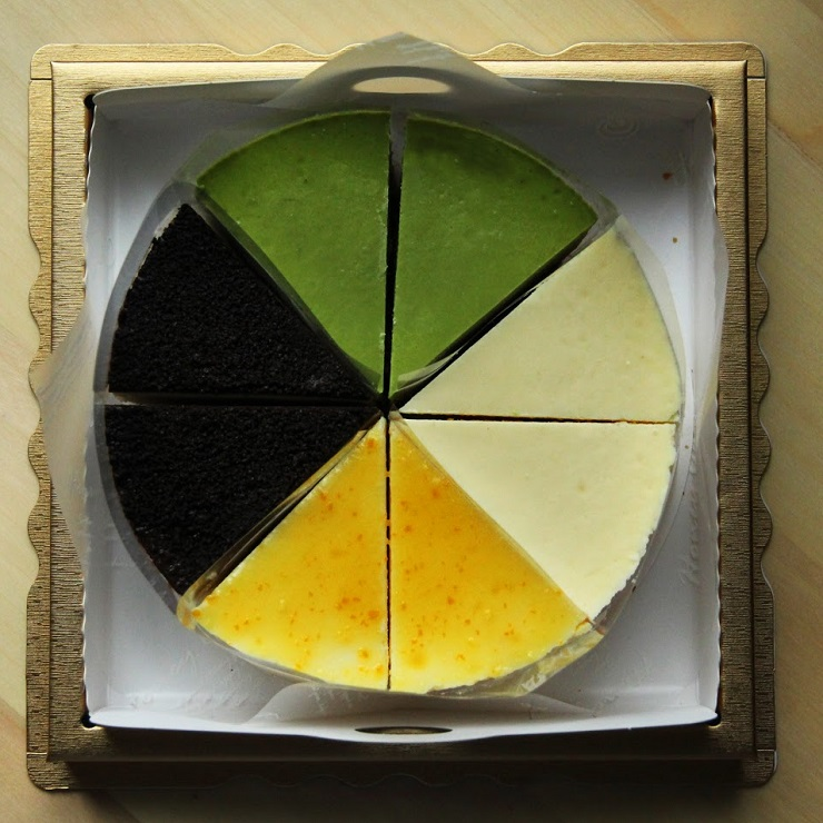 【綜合MIX】重乳酪蛋糕 5.5吋 每盒8片
