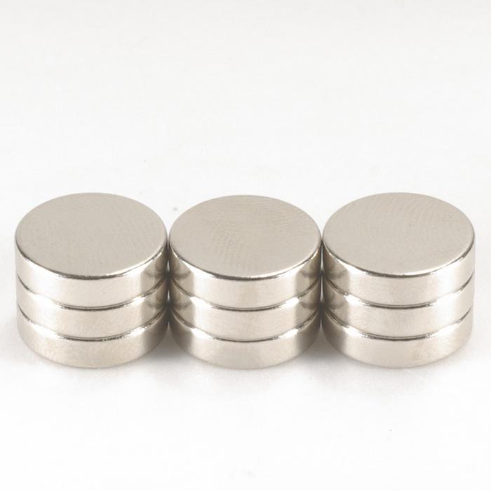 強力磁鐵釹鐵硼 圓直徑1.2公分*厚0.3公分 9個