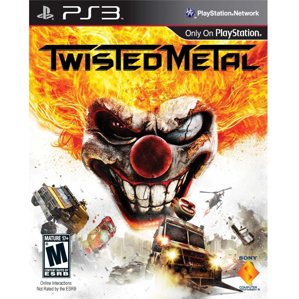 PS3 烈火戰車 英文美版 TWISTED METAL