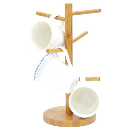 竹製馬克杯架 WP16-10