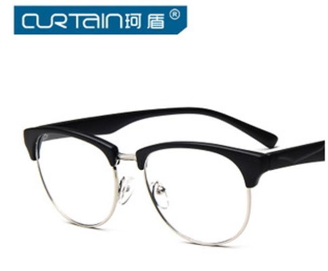 50%OFF【J009783Gls】經典復古眼鏡框金屬百搭框架眼鏡 潮流近視平光鏡
