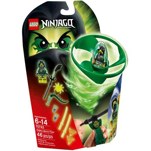 樂高積木LEGO《 LT70743 》2015 年 NINJAGO 旋風忍者系列 - 飛天旋風忍者之旋風鬥-摩洛
