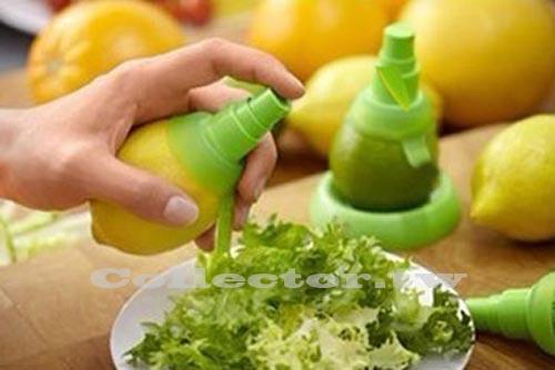 【N13102202】水果汁噴霧器 檸檬榨汁器 手動迷你榨汁器 (2個裝)