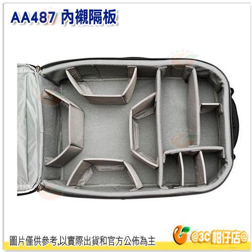 ThinkTank 創意坦克 行李箱隔板 彩宣公司貨 AA487 灰色 分隔板 適用AH484