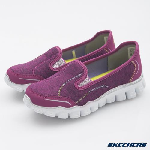 [陽光樂活] SKECHERS (童) 女童系列 SkechFlex II 休閒鞋 健走鞋- 81201LHPMT