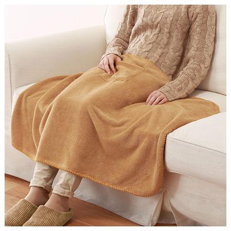 膝上毯  SOLID 16 CAMEL