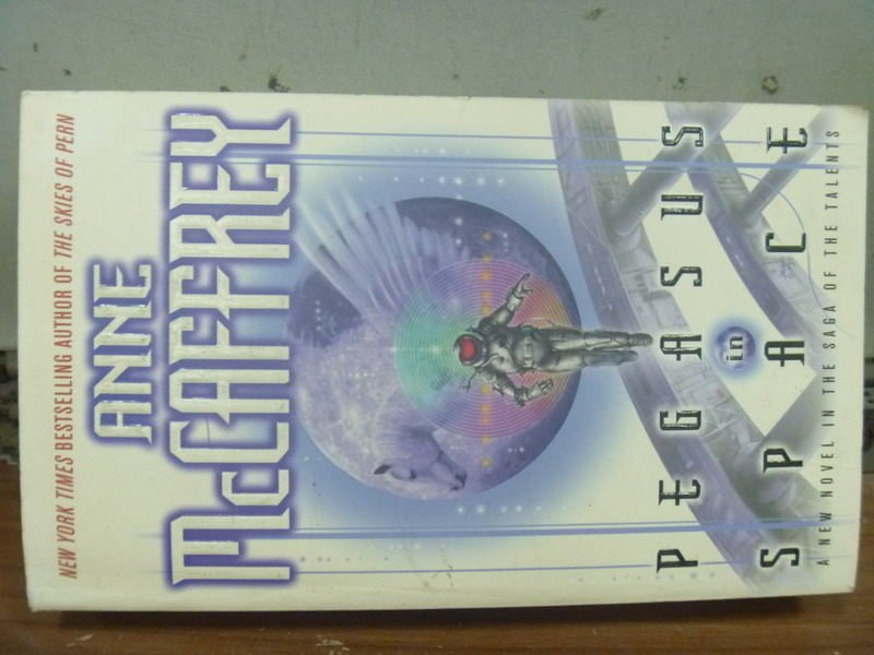 【書寶二手書T2/原文小說_JQJ】Pegasus in Space_Anne McCaffrey