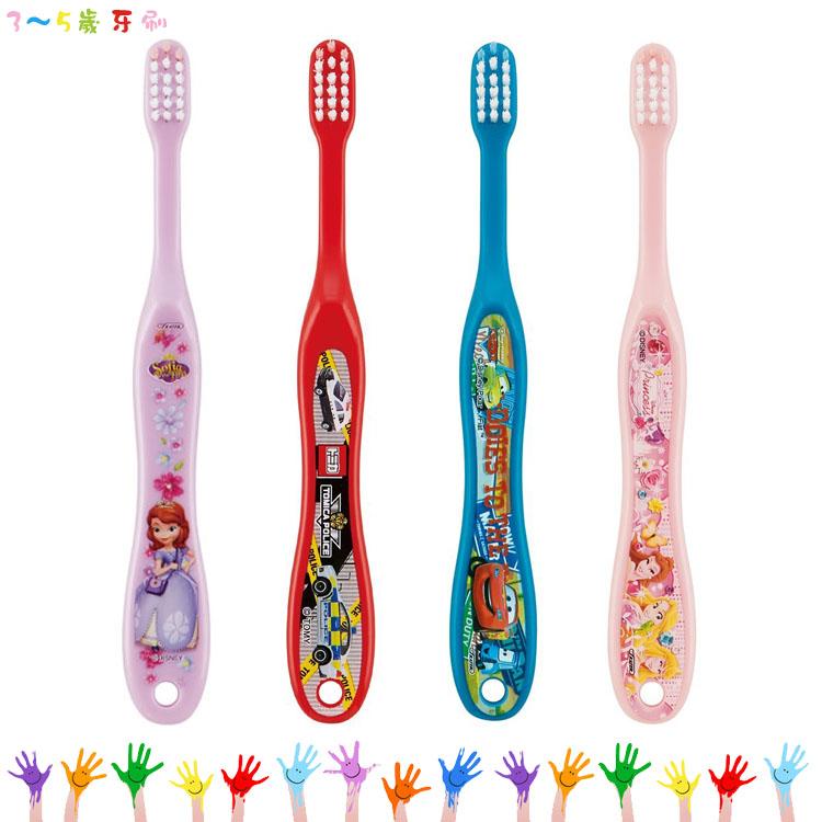 大田倉 日本進口正版 蘇菲亞小公主 TOMICA 汽車總動員 迪士尼公主 兒童用3-5歲牙刷 浴室衛浴用具
