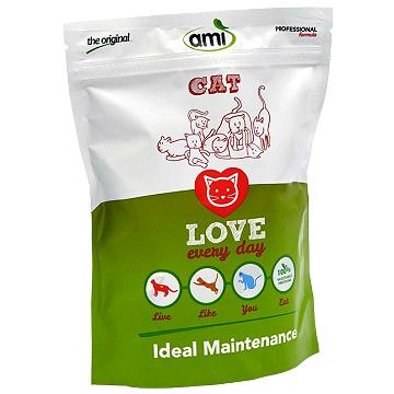 《AMI 阿米》素食貓糧 (300g小包裝) 義大利原裝進口  貓咪健康之選 100%純天然植物,非基因改造原材料 適合各大小貓咪
