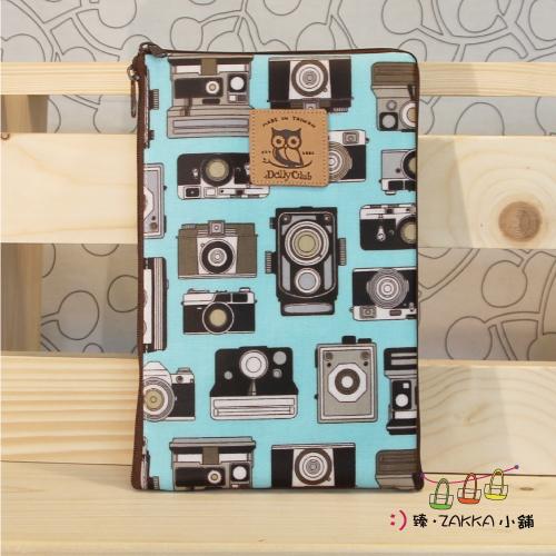 Dolly club 朵莉俱樂部 -【八吋平板包(雙拉)-藍色相機】*臻ZAKKA小舖*防水包包雜貨
