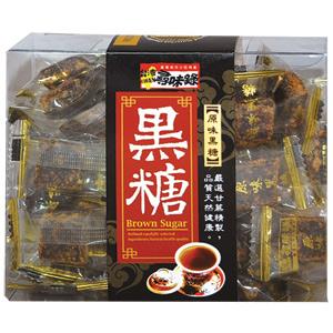 有樂町進口食品 台灣尋味錄 原味黑糖塊/紅茶黑糖/桂圓紅棗黑糖/烏龍茶黑糖 4712755791503