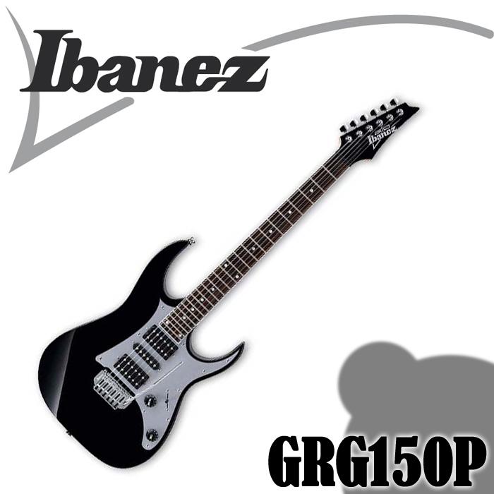 【非凡樂器】金屬黑 黑色 Ibanez GRG150P 小搖座電吉他/全配件贈送【進階首選】