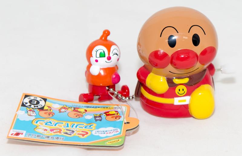 麵包超人和紅精靈 發條玩偶 日本帶回正版商品