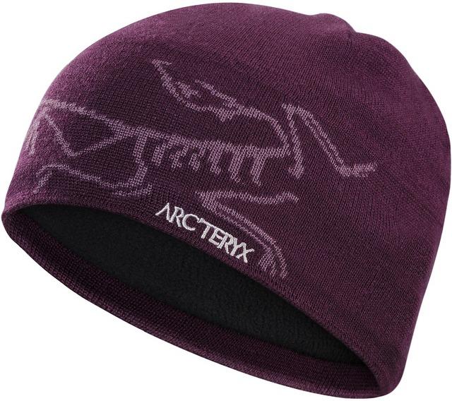 Arcteryx 始祖鳥 登山毛帽/滑雪/羊毛保暖帽 Bird Head 5681 錢德拉紫 Arc'teryx