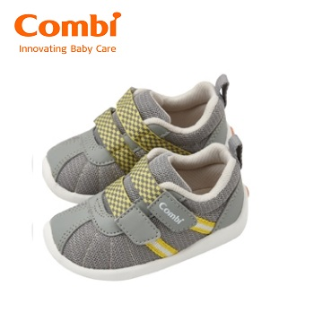 【安琪兒】日本【Combi】 2016 新款機能鞋--微風暖洋-月光灰