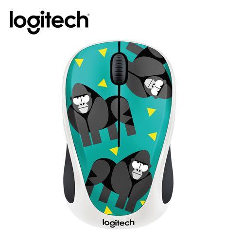 Logitech 羅技 M238  PARTY COLLECTION  無線滑鼠 -大猩猩