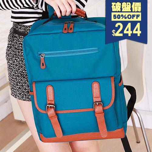 韓版厚料質感百搭後背包。/手提後背包【X8827】後背包( 包飾衣院 shape ) 現貨+預購