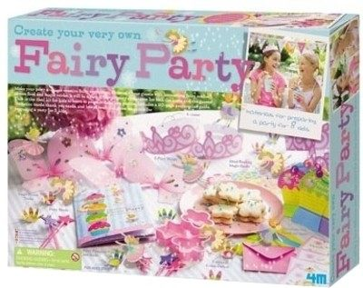 【4M 創意 DIY】Create Your Own Fairy Party花精靈歡樂派對