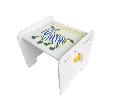 @小櫻桃嬰兒用品@kikimmy--歐風斑馬椅(無靠背) 兒童書桌椅