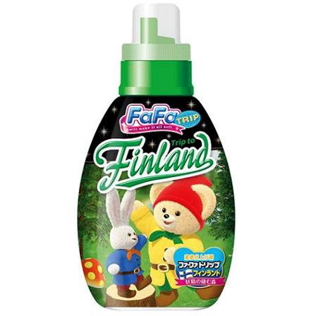 @小櫻桃嬰兒用品@日本FaFa熊--芬蘭風濃縮柔軟精 森林花香 600ML