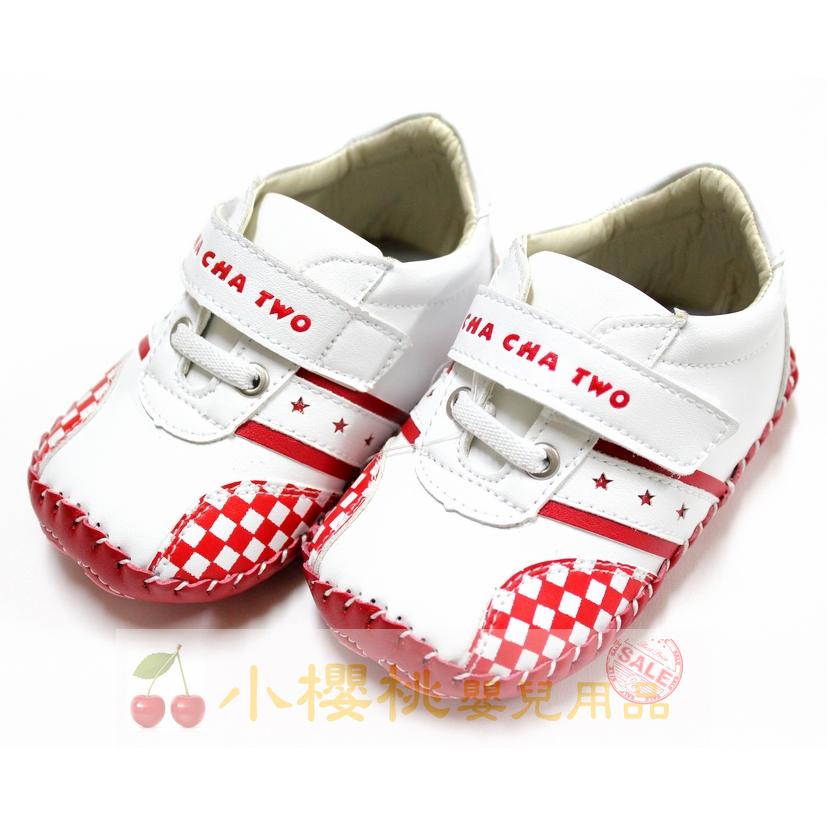 天鵝童鞋Cha Cha Two恰恰兔--賽車格童鞋 學步鞋 台灣製造