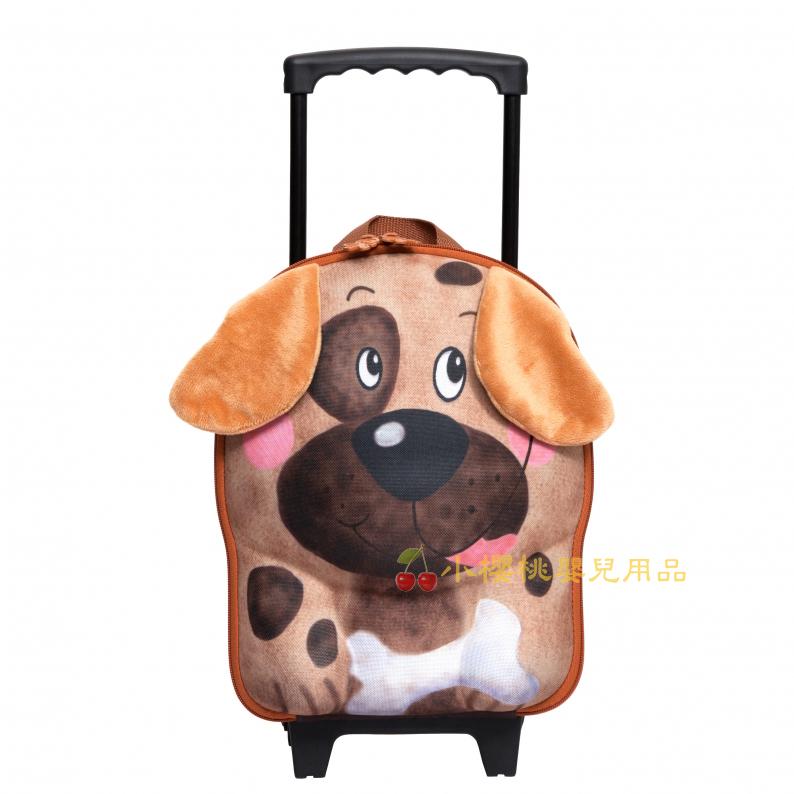 德國okiedog---立體 兒童動物造型 行李箱 拉桿書包【小狗】