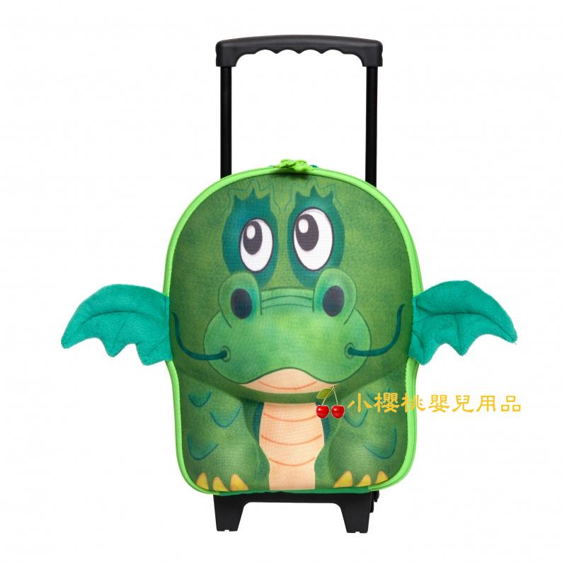德國okiedog---立體 兒童動物造型 行李箱 拉桿書包【恐龍】