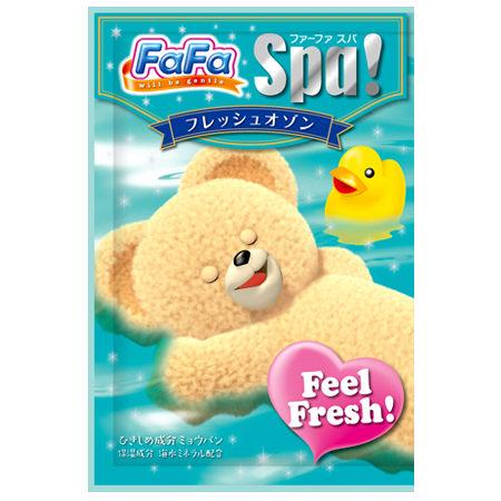 @小櫻桃嬰兒用品@日本FaFa熊--保濕清新入浴劑30G