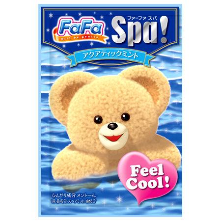 @小櫻桃嬰兒用品@日本FaFa熊--薄荷涼感入浴劑30G