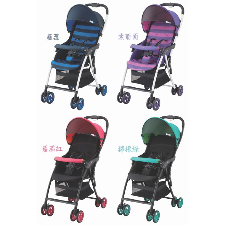 愛普力卡Aprica--超輕量單向嬰幼兒手推車Magical Air 羽量版