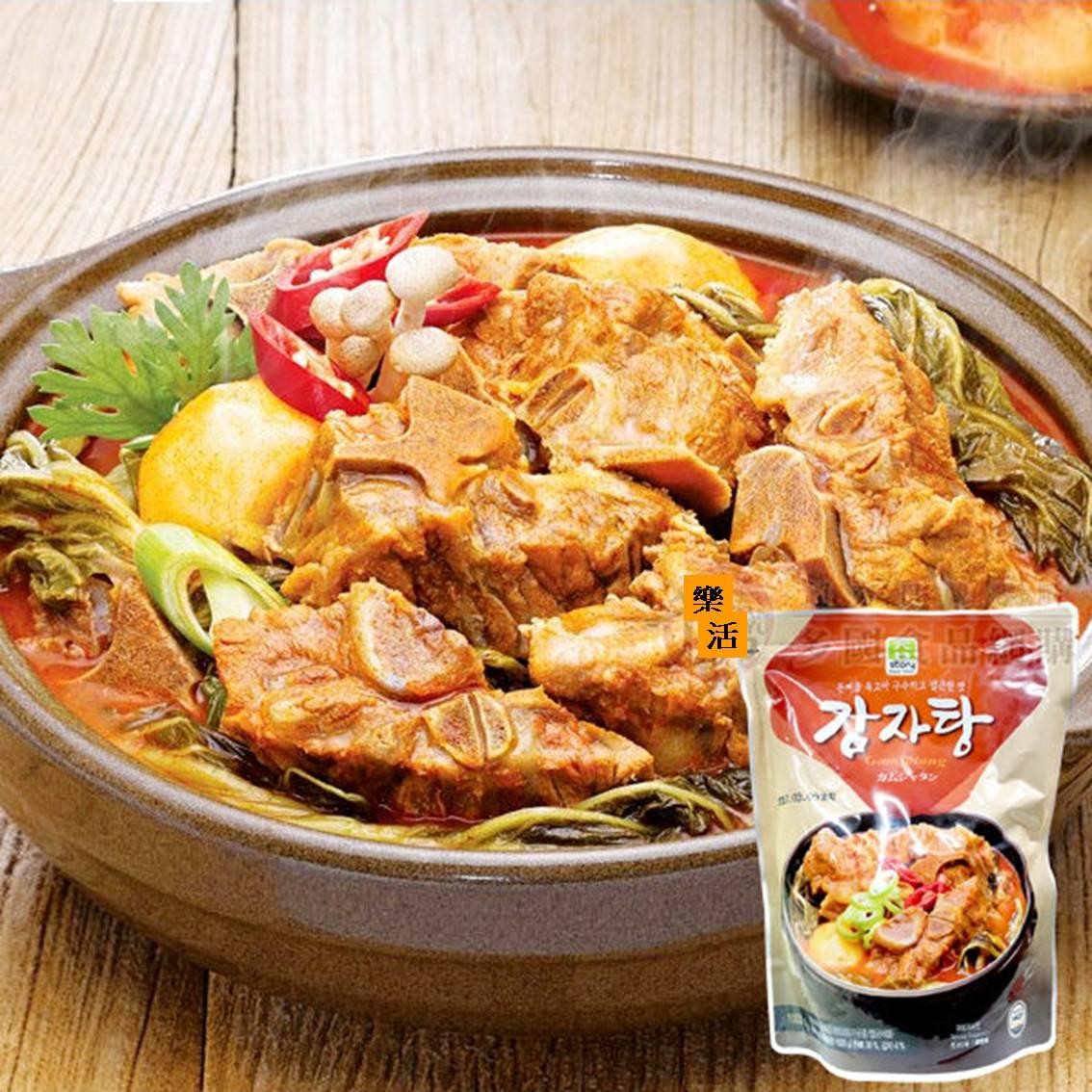韓國 真韓馬鈴薯豬骨湯1000g 速食調理包  樂活生活館