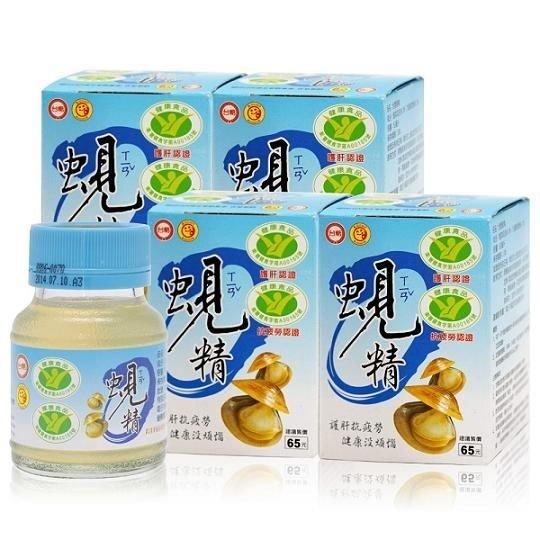 【台糖蜆精】62ml*6瓶 護肝 抗疲勞 國家健康食品雙認證 潘懷宗推薦