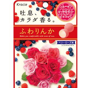 日本Kracie (綜合莓果) 玫瑰花香軟糖 玫瑰薔薇花香軟糖 [JP353]