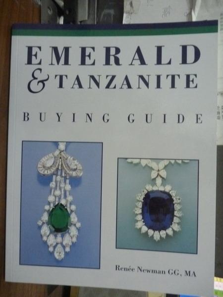 【書寶二手書T1/嗜好_PNI】Emerald & Tanzanite_Renee Newman
