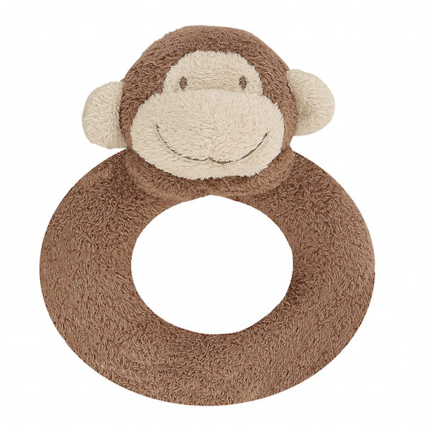 『121婦嬰用品館』美國Angel Dear 動物手搖鈴環 小猴AD1633(此商品售出不做退換)