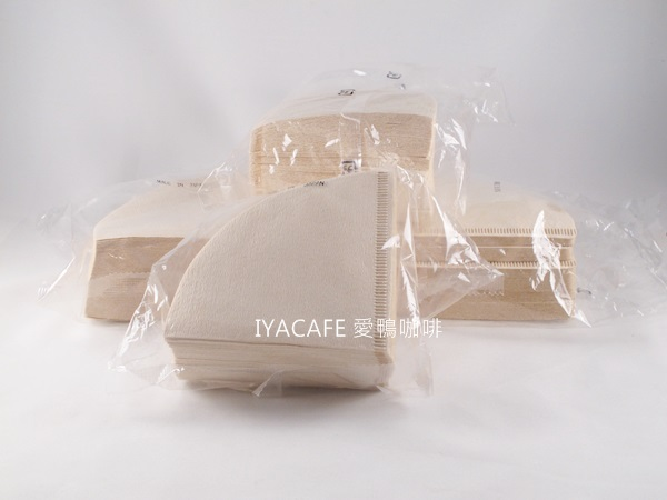 《愛鴨咖啡》Hario同款 V60 無漂白 咖啡 濾紙 1-2杯用 100枚/包 日本原裝