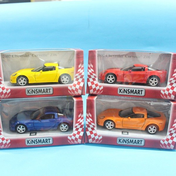 GM 2007 Chevrolet Corvette Z06 合金車 1:36 模型車 KT5320 迴力車 汽車模型(紅盒)/一台入{促199}