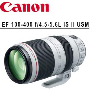 ★分期零利率★ Canon  EF 100-400 f/4.5-5.6L IS II USM  EOS 單眼相機專用變焦鏡頭  ( 彩虹公司貨)