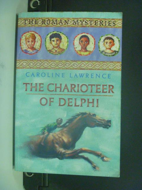 【書寶二手書T5/原文小說_OIR】The Charioteer of Delphi_Lawrence