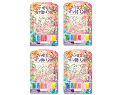 【4M 創意 DIY】Fairy Crystalite Catcher 花精靈珠珠畫(玫瑰/蝴蝶)可選擇