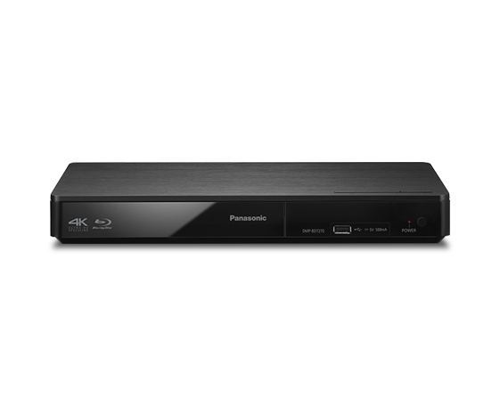 國際牌Smart Network 3D Blu-ray Disc™/ DVD 播放器 DMP-BDT270