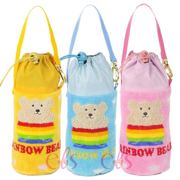 日本RAINBOW BEAR 彩虹熊 保冷水壺手提袋 B01/B02/B03 三款供選 ☆艾莉莎ELS☆