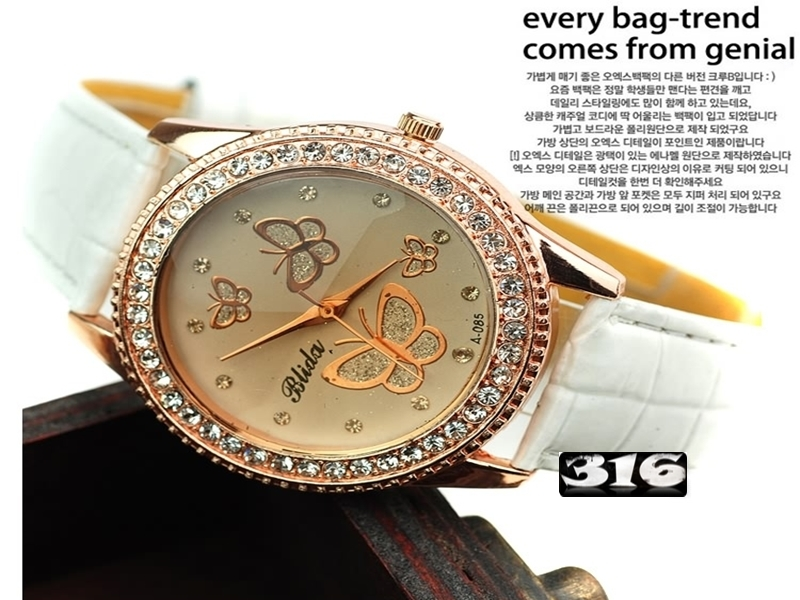 《316小舖》【PG36】(時尚石英手錶-蝴蝶造型手錶-單件價 /中性手錶/學生手錶/生日禮物/韓版手錶/韓系手錶/韓式手錶/男女手錶)
