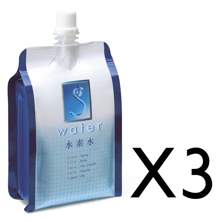 初體驗 水素水 氫氣水 富氫水 能量水 礦泉水 日本原裝進口 富山名水 (3包入)