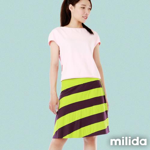 【Milida,全店七折免運】-裙裝單品-短裙