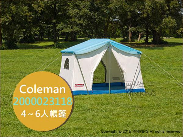 【配件王】日本代購  美國Coleman 2000023118 70年代綠洲露營帳篷 4~6人 登山 戶外 簡單設營