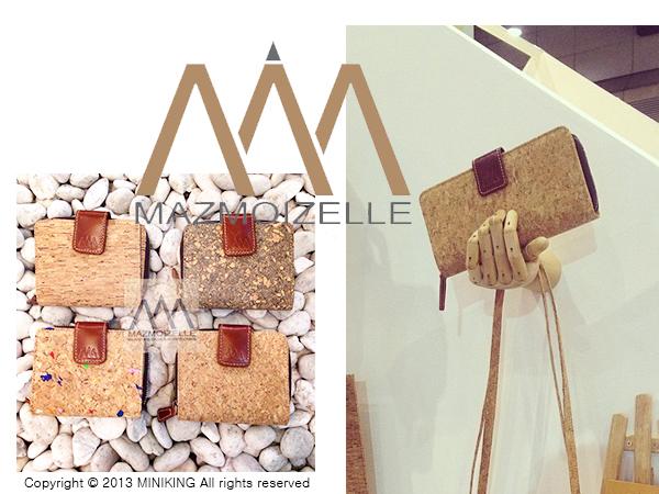 ∥配件王∥泰國進口 mazmoizelle 軟木塞 設計款 皮夾 錢包 短夾 長夾 另售 包包 gaga包 非 皮革