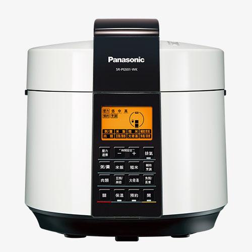 【感恩有禮賞】Panasonic 國際 SR-PG501 微電腦壓力鍋 3段高壓 送調味罐組+餐具組