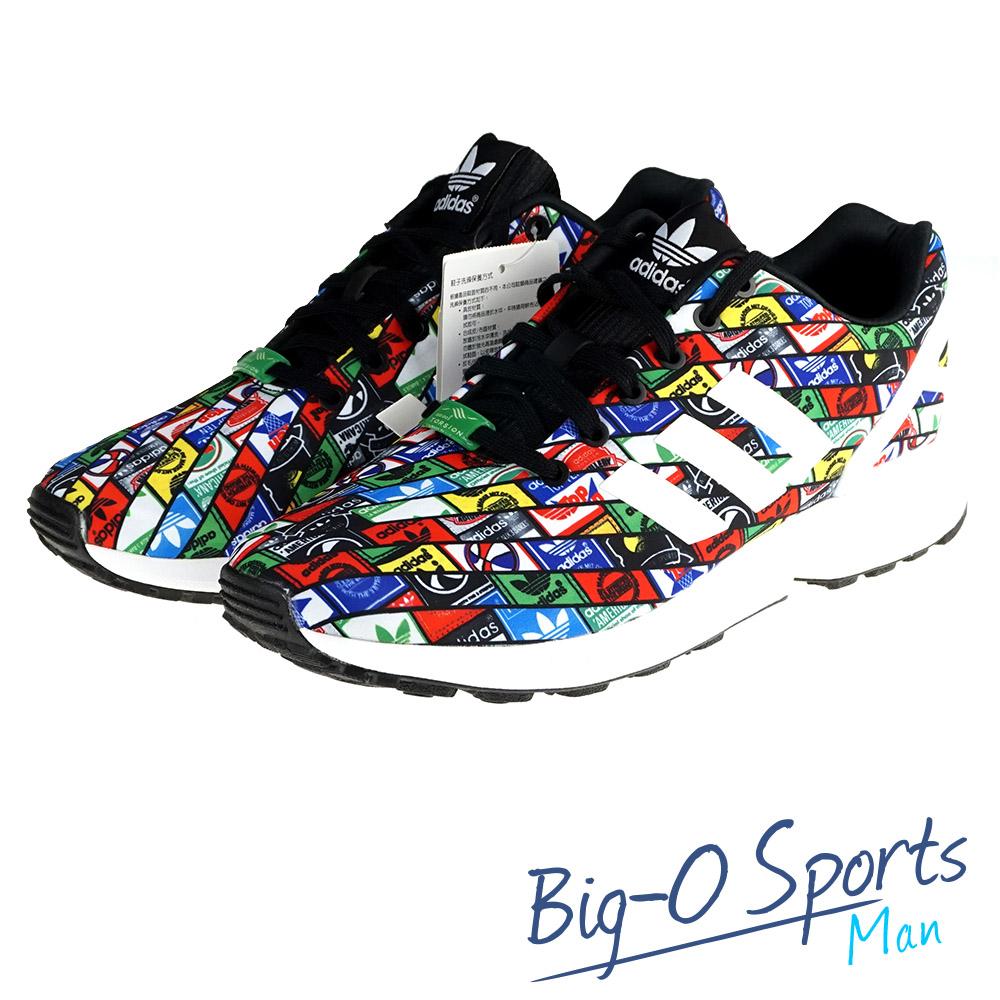 ADIDAS 愛迪達 ZX FLUX 復古鞋 男 B24904 Big-O Sports