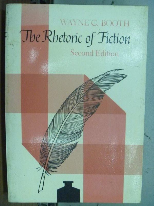 【書寶二手書T5/原文小說_MOM】The Rbetoric of Fiction_2/e_Wayne C. Booth